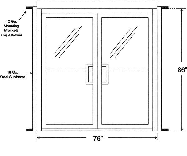 Exterior Door Standard Exterior Door Size Inspiring Photos